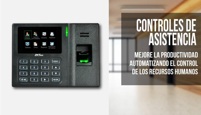Sistema de control de asistencia de personal.
